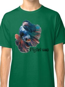Betta Fighting Fish Classic T-Shirt