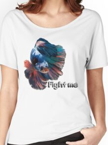 Betta Fighting Fish Women's Relaxed Fit T-Shirt