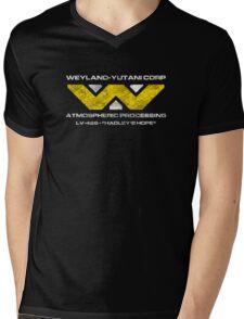 LV-426 Staff T-Shirt Mens V-Neck T-Shirt