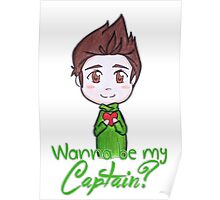 "Nivanfield ""Wanna be my captain?"" ♥ Poster"