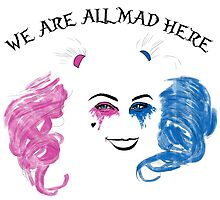 We are all mad here by Zefkiel