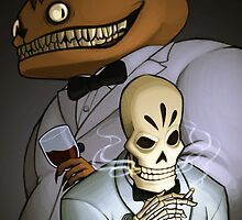 Grim Fandango by Jessica Dawn