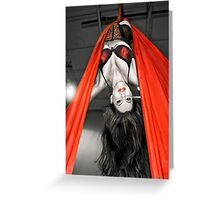 The Aerialist Greeting Card