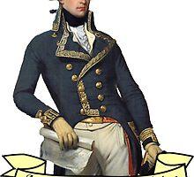 America's Favorite Fighting Frenchman by zeldakinz