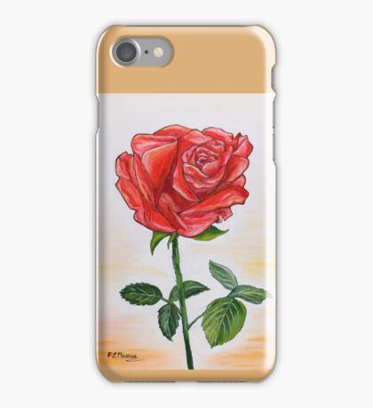A touch of romance iPhone Case/Skin