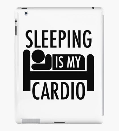Sleeping Is My Cardio iPad Case/Skin