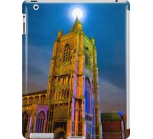 Full Moon Above Church of St Peter Mancroft iPad Case/Skin