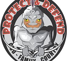 PROTECT & DEFEND by MontanaJack
