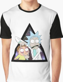 Rick and morty. Graphic T-Shirt