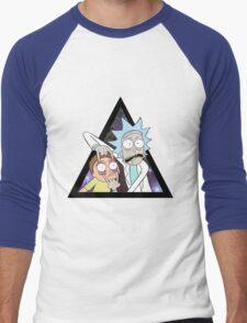 Rick and morty. Men's Baseball ¾ T-Shirt