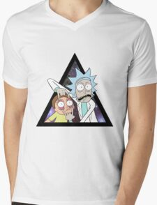 Rick and morty. Mens V-Neck T-Shirt