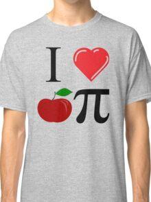 I Heart Apple Pi Classic T-Shirt