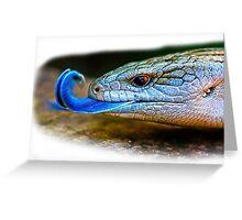Blue-tongued skink Greeting Card