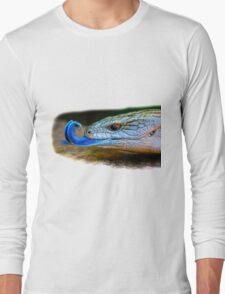 Blue-tongued skink Long Sleeve T-Shirt