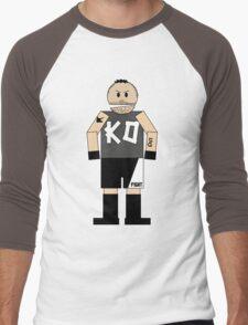 WWE Kevin Owens (Canadian South Park) Men's Baseball ¾ T-Shirt