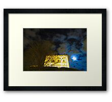 Norwich Castle Museum at Night, England Framed Print