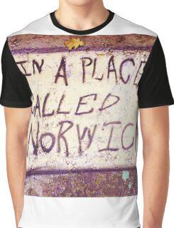 Norwich, England - Urban Art Graphic T-Shirt