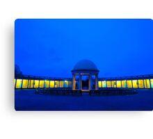 Eaton Park Pavilion at Dusk, Norwich, England Canvas Print