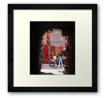 Moroccan Moves Framed Print
