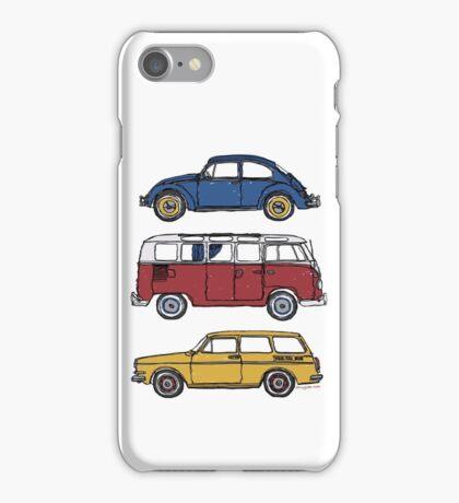 Vintage Volkswagen Family iPhone Case/Skin