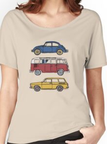 Vintage Volkswagen Family Women's Relaxed Fit T-Shirt