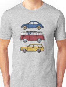 Vintage Volkswagen Family Unisex T-Shirt