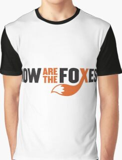 Now Are the Foxes - Modern Graphic T-Shirt