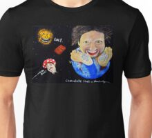 Chocolate Lines up Planetarily with the Sun Unisex T-Shirt