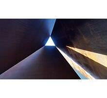 Richard Serra art sculpture in Amsterdam Photographic Print