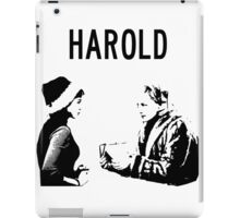 Harold....carol aird and therese belivet iPad Case/Skin