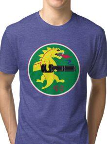 25th Fighter Squadron Tri-blend T-Shirt