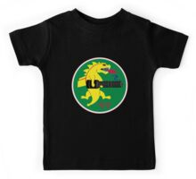 25th Fighter Squadron (black) Kids Tee