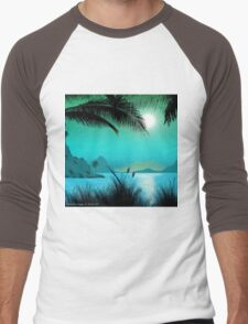 Hawaiian Islands Men's Baseball ¾ T-Shirt