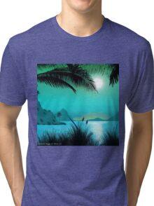 Hawaiian Islands Tri-blend T-Shirt