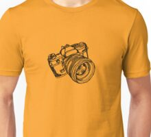 Vintage 35mm SLR Camera Design Unisex T-Shirt