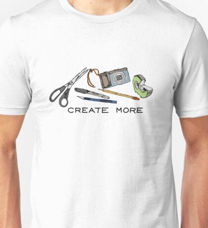Create More Unisex T-Shirt