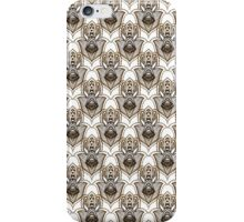 Hamsa Hand Patern- Fatima Hand of Miriam.  iPhone Case/Skin