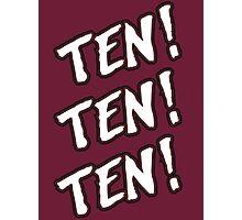 Ten! Ten! Ten! Tye Dillinger  Photographic Print