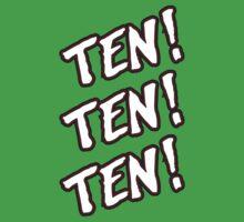 Ten! Ten! Ten! Tye Dillinger  One Piece - Short Sleeve
