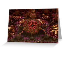 Fractal Delight Greeting Card
