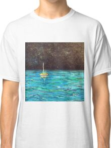 Sailboat Under the Stars Classic T-Shirt
