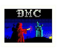 DMC Wizard Art Print