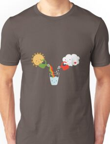The Glass is Refillable Unisex T-Shirt