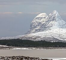 Suilven in Winter by derekbeattie