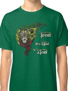 Reggae Rasta Iron, Lion, Zion 4 Classic T-Shirt