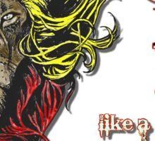 Reggae Rasta Iron, Lion, Zion 4 Sticker