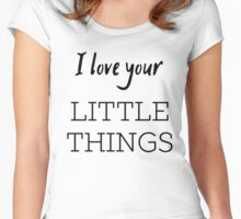 Little Things Women's Fitted Scoop T-Shirt