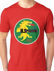 25th Fighter Squadron (red) Unisex T-Shirt