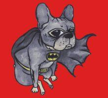 Superhero x French Bulldog 7 of 10 series 1 Baby Tee