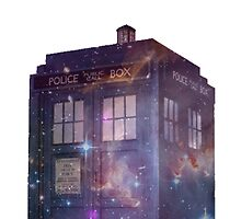 Galaxy Tardis by Molly Smith